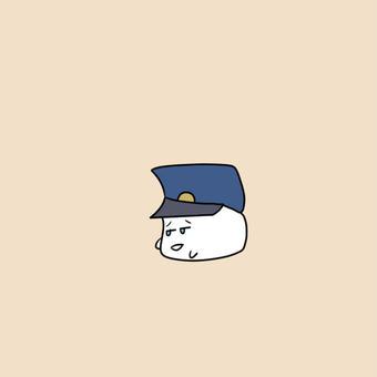 【オリキャラ】呆れてるモチピラフ【ピラフドリア】
