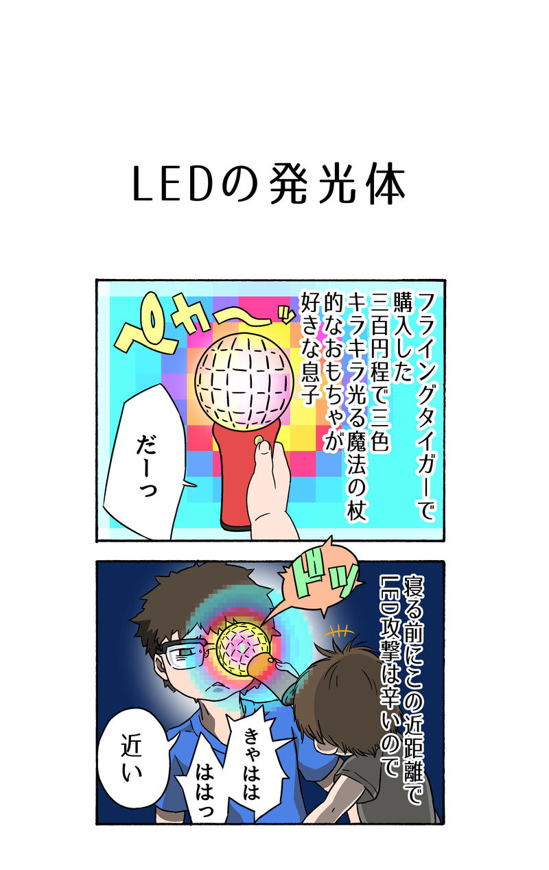 LEDの発光体