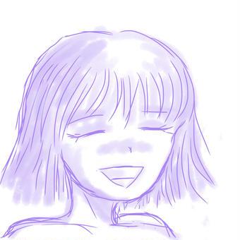 紫色の微笑み01