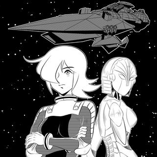 女宇宙海賊ルカ(加筆修正版)