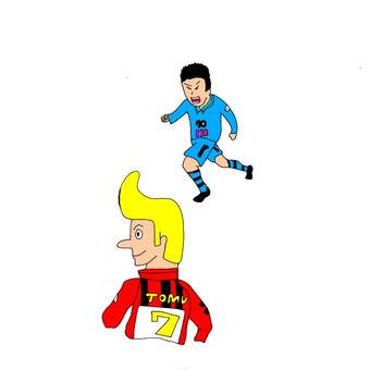 トムとサッカー
