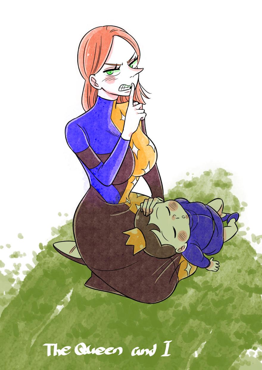 王妃様と私