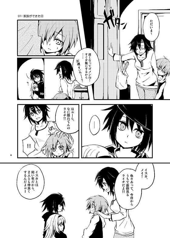 (番外編)Chapter0.5 『01 家族ができた日』