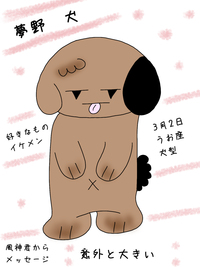 夢野 犬(ゆめの いぬ)