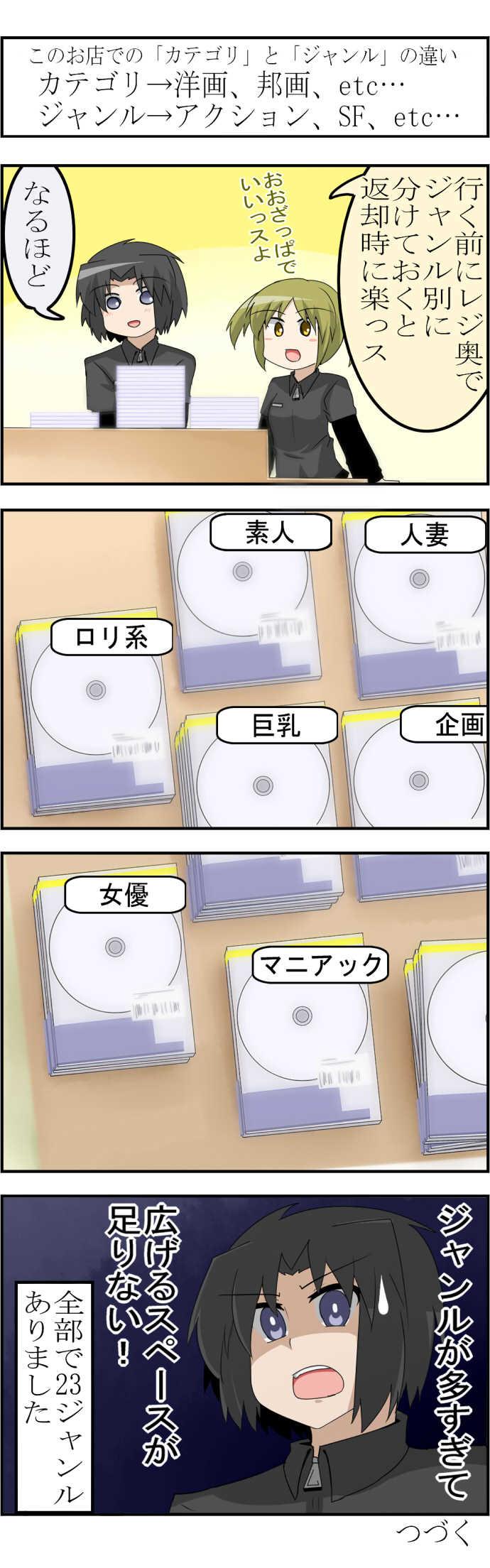 第4話 はじめてのアダルト返却(前編)