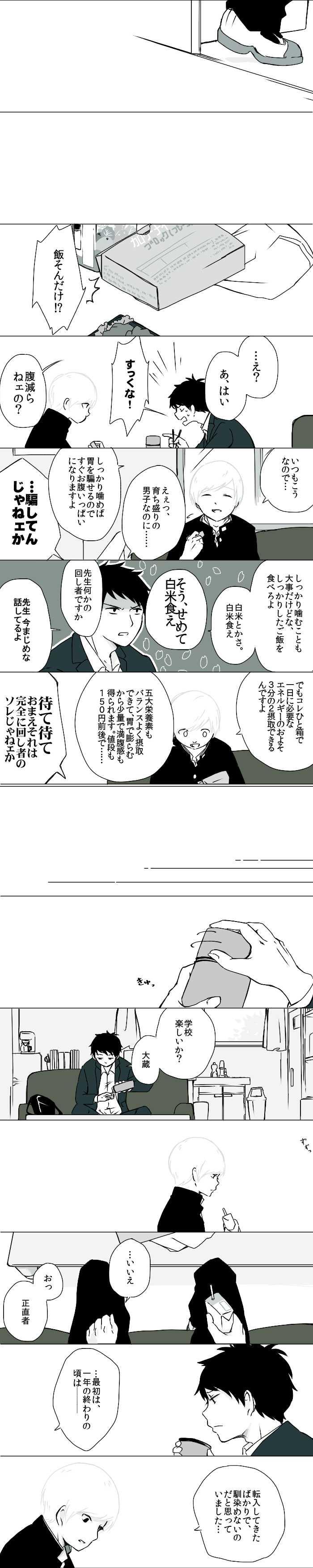 03. 甘くない男