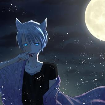 月夜(蒼の彼方より)