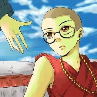チベットと空飛ぶ君