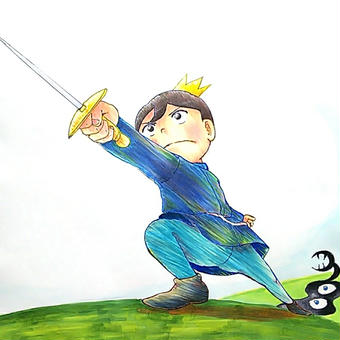 王様ランキングファンアート