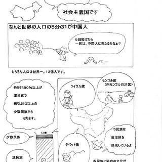 中国(地理マンガ)