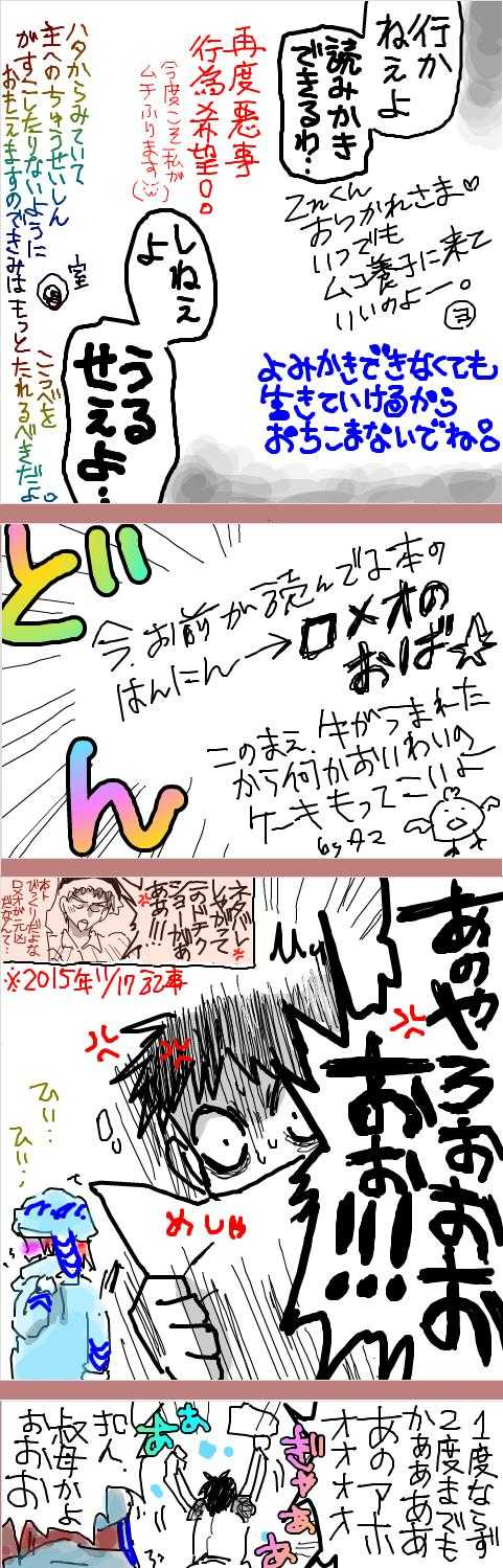 Znいたぶり続けて4周年以上記念漫画