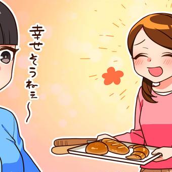 美味しそうなパンに囲まれて幸せ~♪