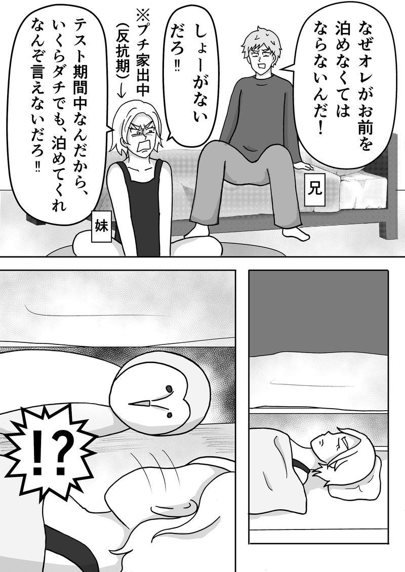 File25 ベッドの下に・・