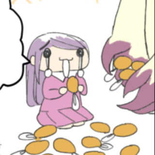 めんたま子ちゃん 「黄金帝編」7話8話
