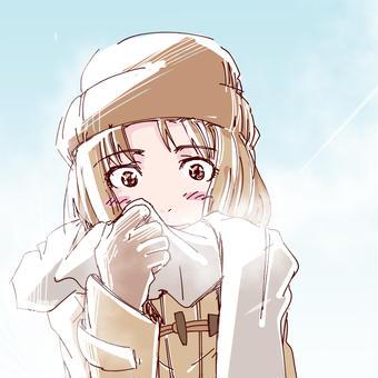 寒いっすな〜