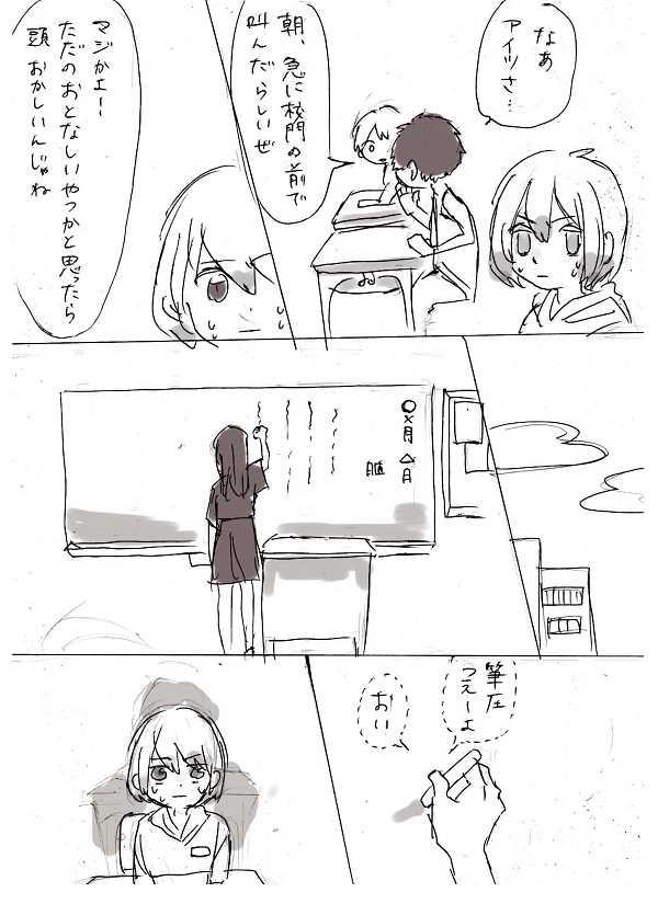 卒業式と少女