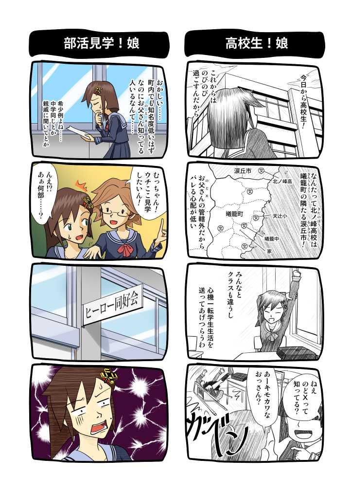 番外4コマ集16 高校入部編