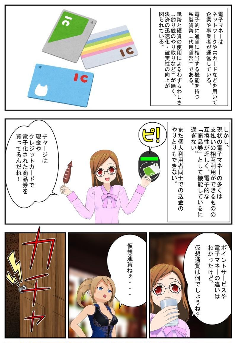まんが 仮想通貨のふしぎ 第1話