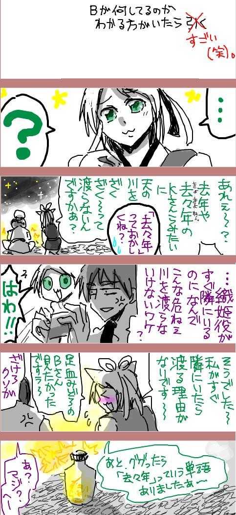 2016/07/07「今年も例の天の川で【七夕】in B&L」