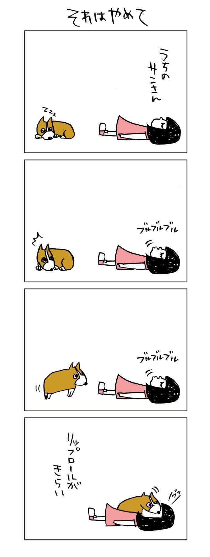 コーギーのサンさん4コマ漫画11~20話