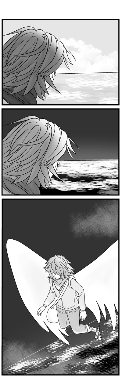 ハンブンの空⑭