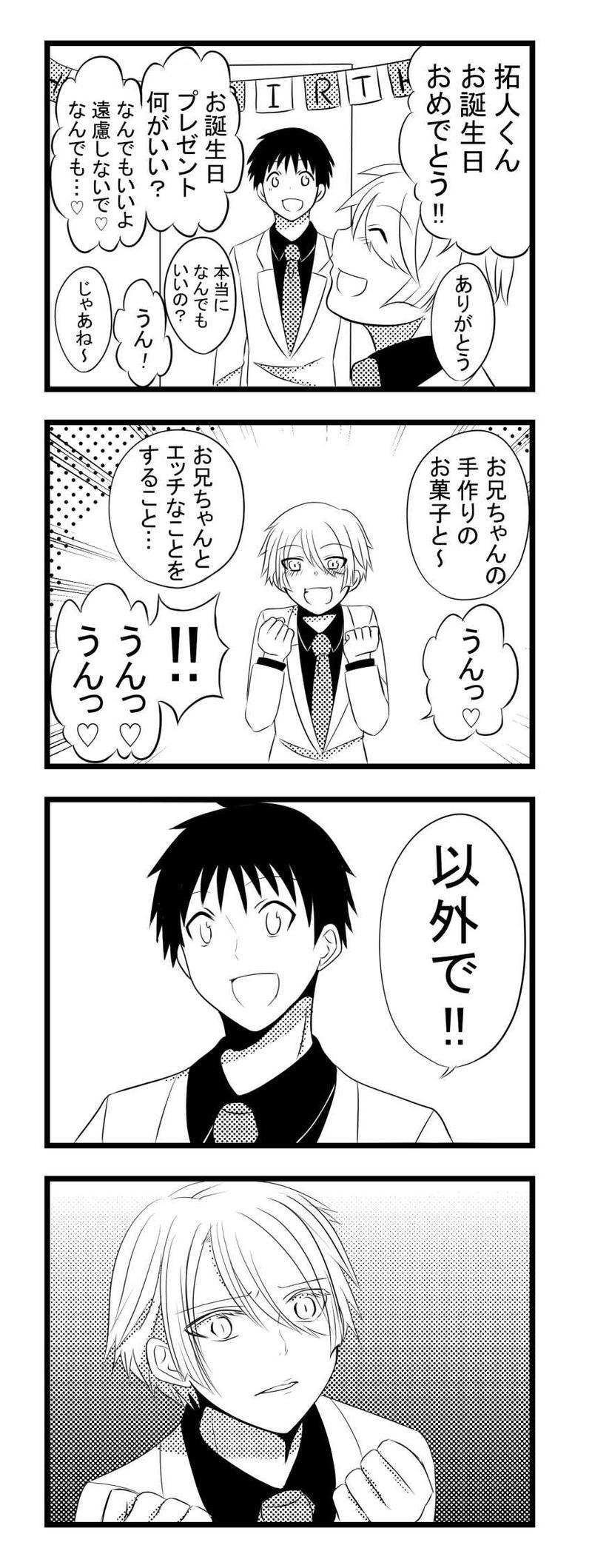 ヤンデレ小話3【拓人くんのお誕生日】