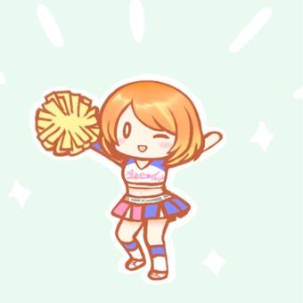 Aqua☆Magic衣装のミライ小町ちゃん