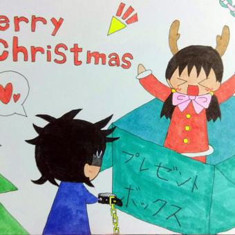 コン「プレゼントは私~!!」