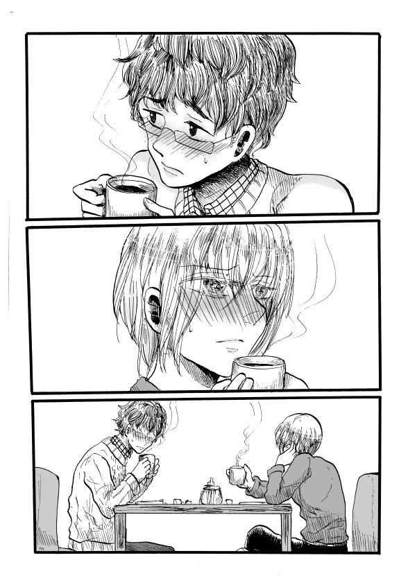 日常編「カフェブレイクはコーヒーで」