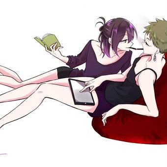 紫陽花さんと姐さん