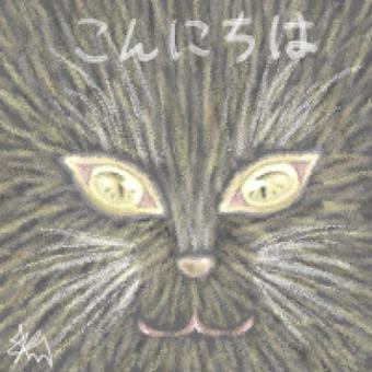 ただの黒猫