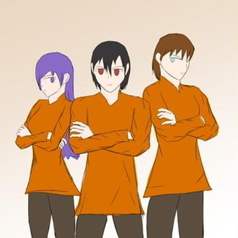 【エデナー】三人の脱獄者【ピラフドリア】