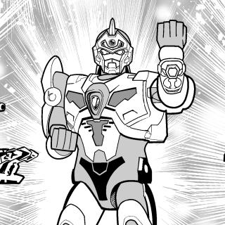 第4話 電光超人 DXグリッドマン