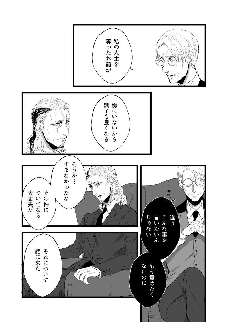 【BL】二話:影