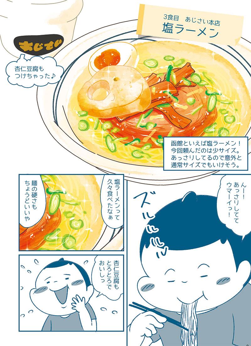 1食目から3食目