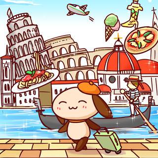 姉妹イタリア旅行記