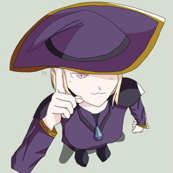 【オリキャラ】魔女エリス(ハロウィン)【せかへい】