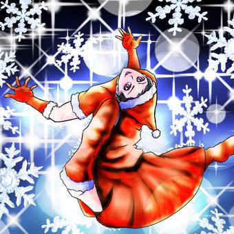 クリスマスイラスト01