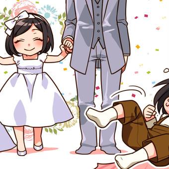 私も結婚式行きたかった~!