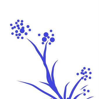 青き花01