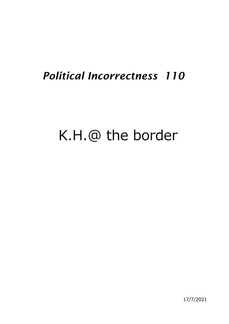K.H.@ the border