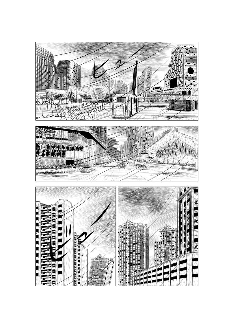 第ニ話 「地球人の街」