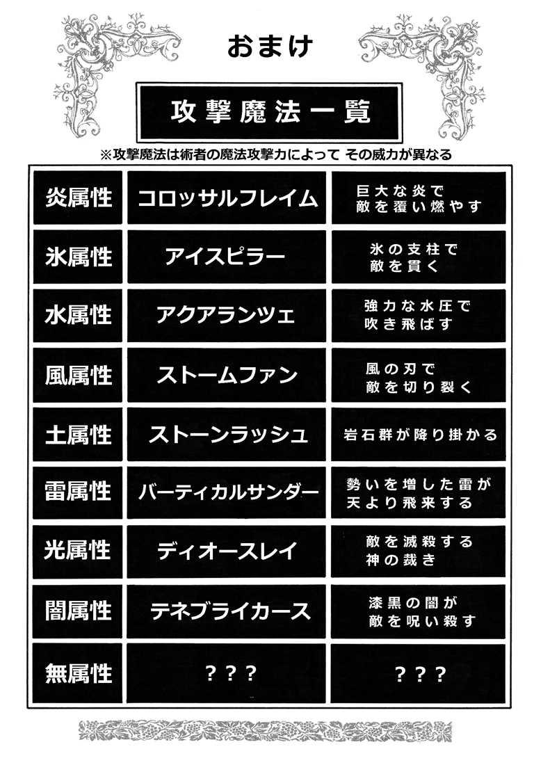 #23「魔法の章 攻撃編」