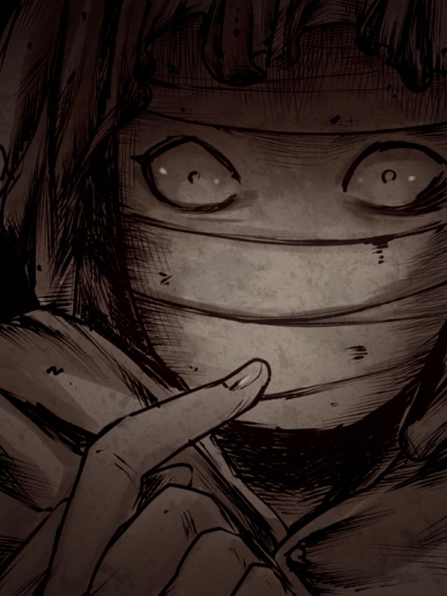 「根の国の少女」の包帯男さん