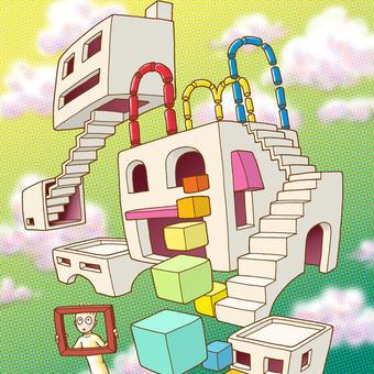 彼と箱「空中遊園」