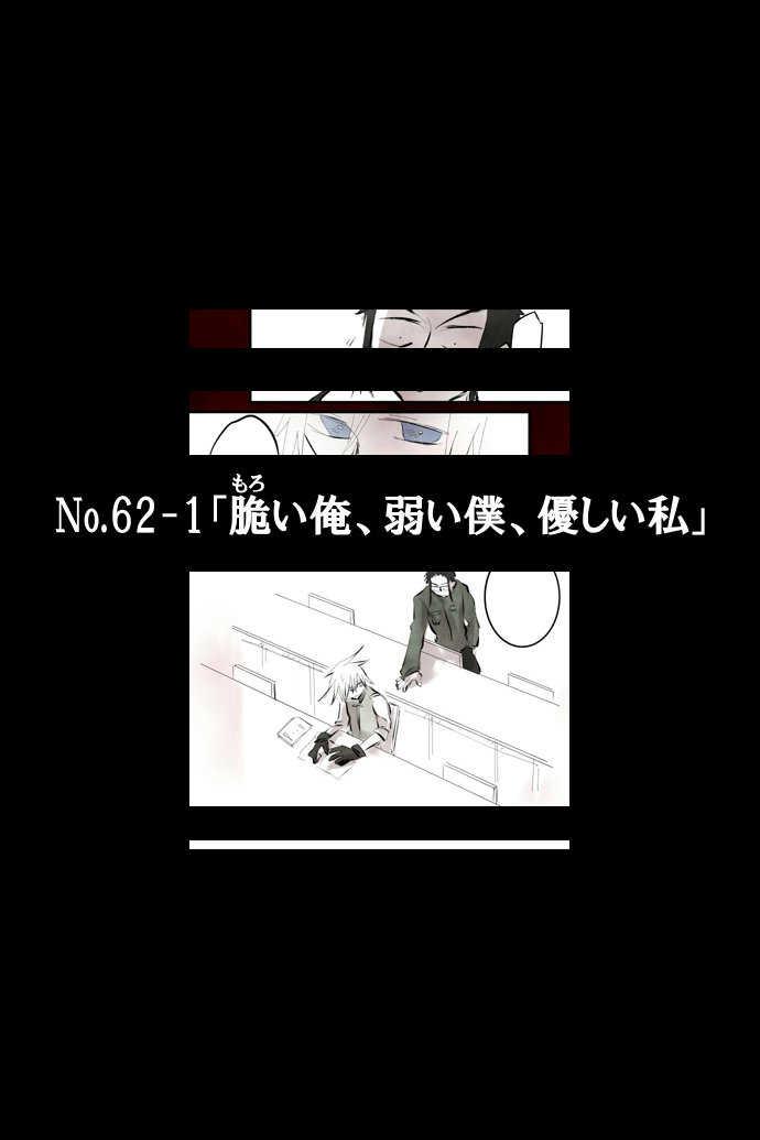 No.62-1「脆い俺、弱い僕、優しい私」