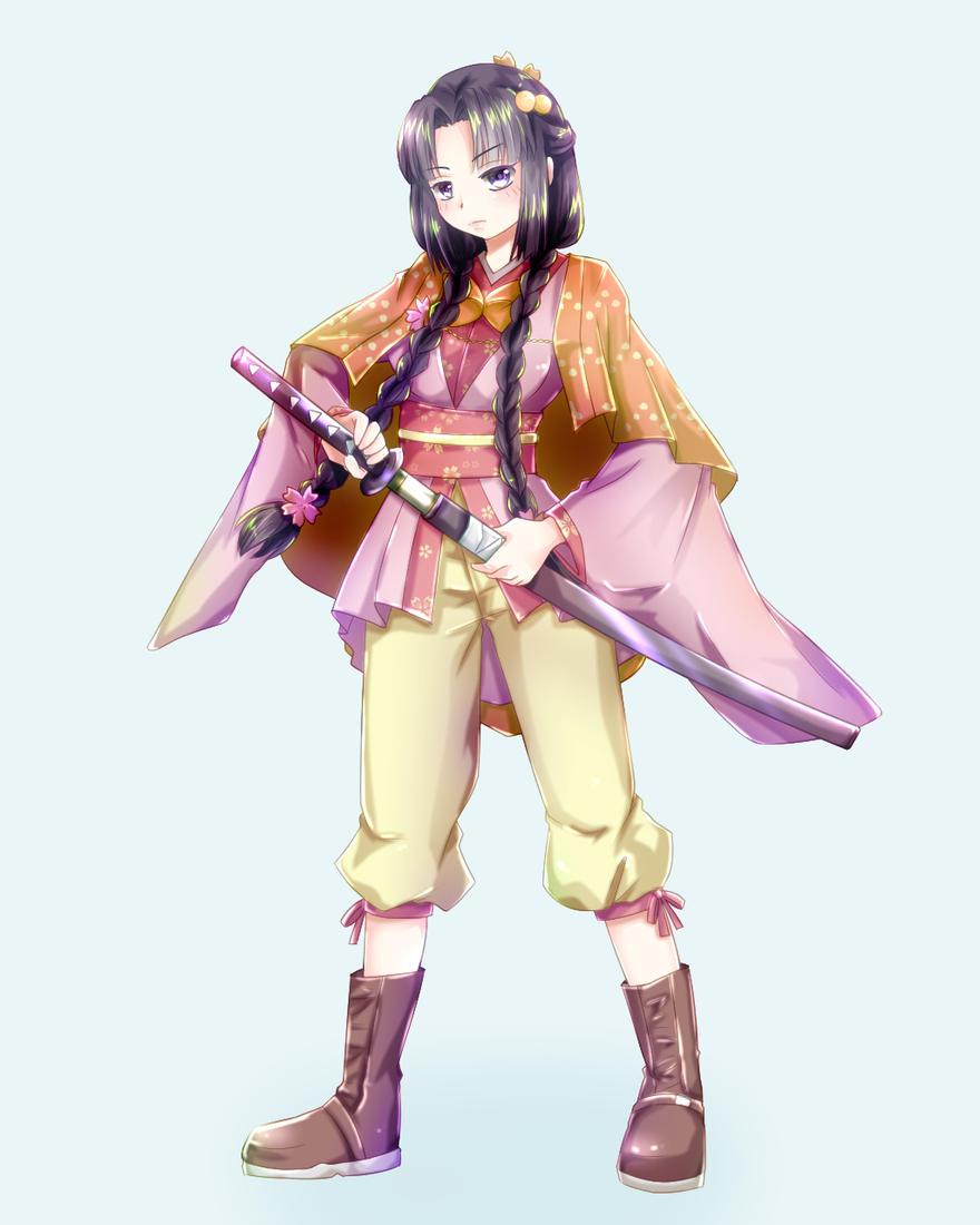 立ち絵 女剣士