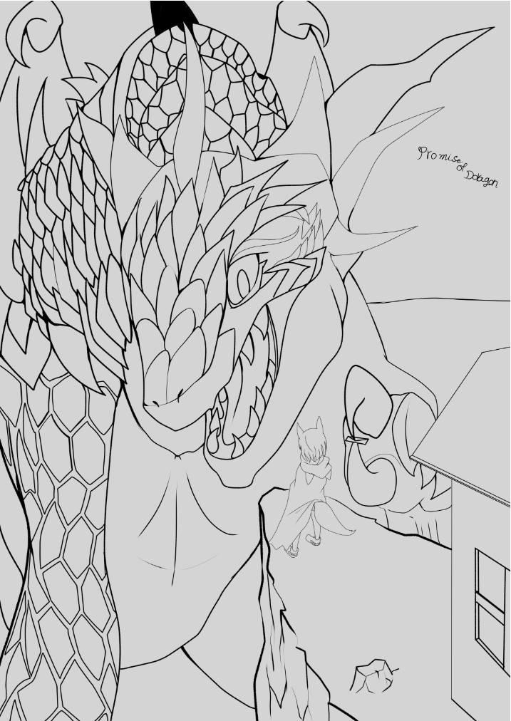 【竜の約束】2話 ニンゲンと半獣人
