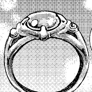 魔法の指輪の声