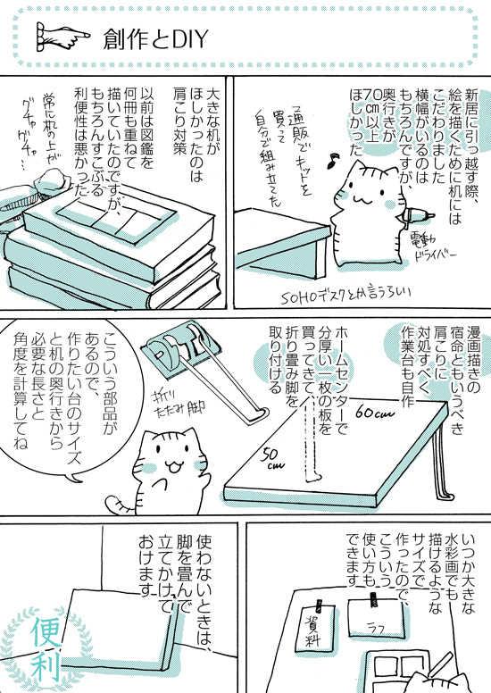 1000ページ達成記念エッセイ漫画 創作あれこれ話